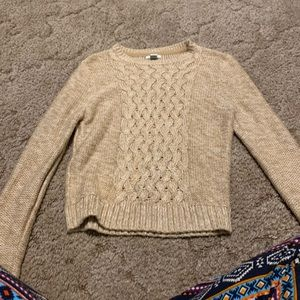 Forever 21 Mustard Sweater